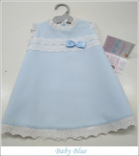baby Blue Pique Dress