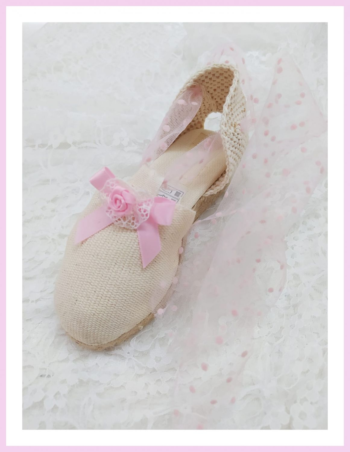 Summer Shoe Tulle PINK