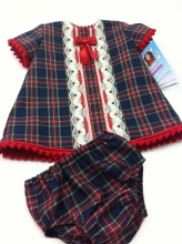 Tartan Dress with Knickers