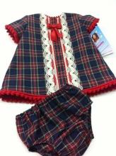 Tartan Dress with Knickers