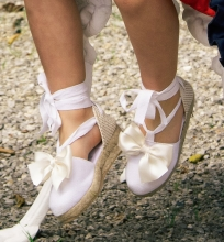 WHITE SUMMER SHOES | VE21-31