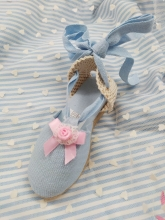 Baby Blue  Summer Shoe