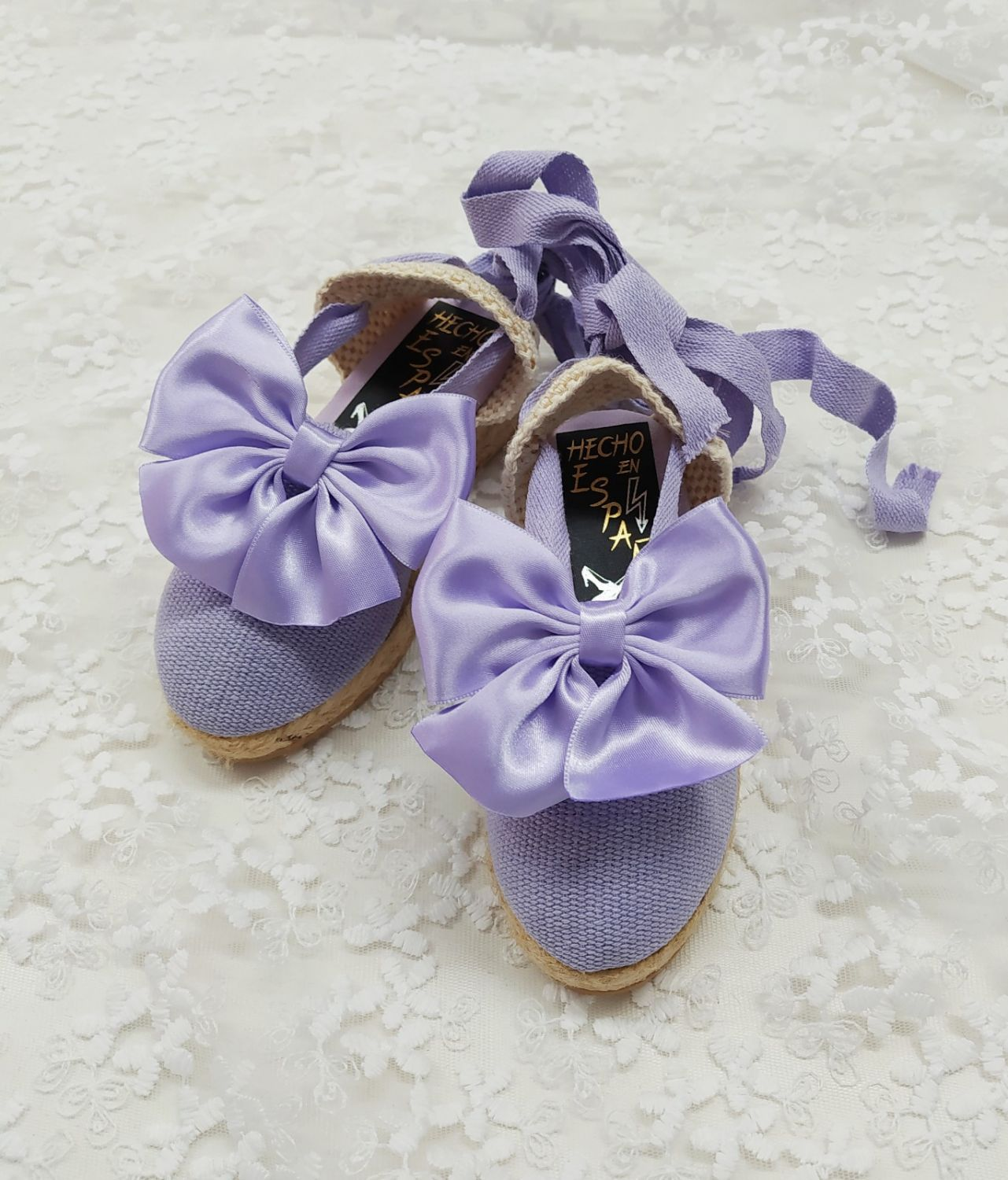 LILAC SUMMER SHOES + LILAC BOW | VE21-31