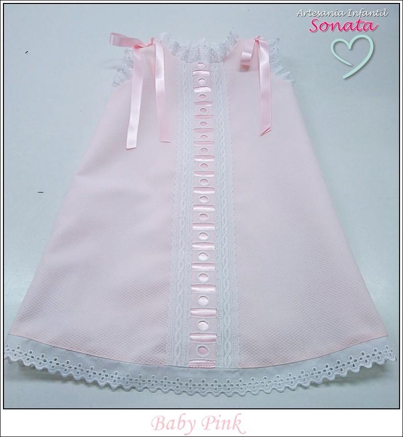 Pink Pique Dress